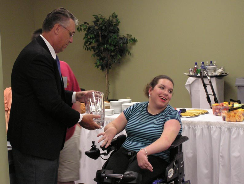 Employment of persons with disabilities increased