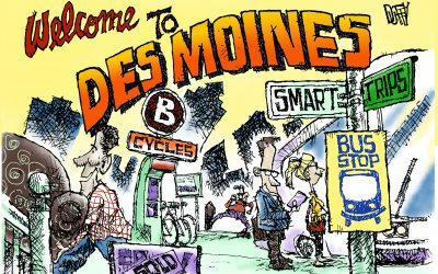 People moving to Des Moines choose transportation alternatives via marketing campaign